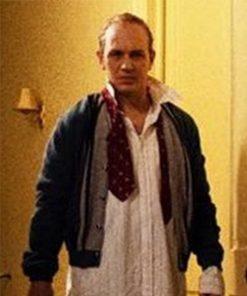 Tom Hardy Capone Fonse Bomber Leather Jacket