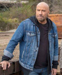 Blue Denim John Travolta TV Series Die Hart Jacket