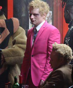 Ed Sheeran Pink Suit Bad Habits Ed Sheeran Pink Blazer