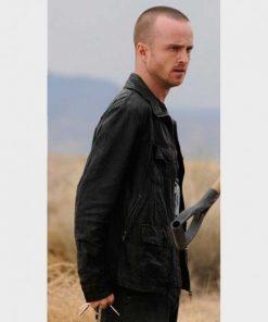 Breaking Bad Jesse Pinkman Black Leather Jacket