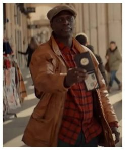Lupin Omar Sy Leather Jacket