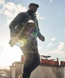 Assane Diop Lupin Black Jacket