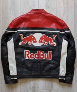 RED BULL Racing Leather Jacket