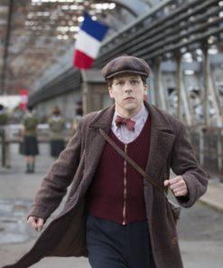 Jesse-Eisenberg-Resistance-Marcel-Brown-Wool-Trench-Coat