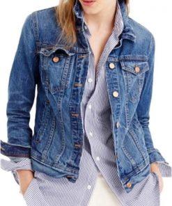 Virgin River Season 3 Lizzie Blue Denim Jacket