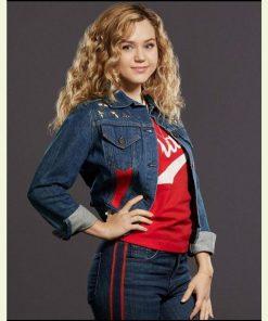 Brec Bassinger Blue Denim Stargirl S02 Courtney Whitmore Jacket