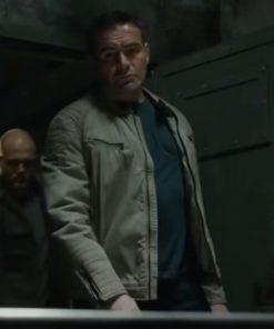 Dorin Zaharia Movie The Protege 2021 Leather Jacket