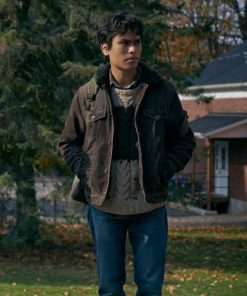 Forrest Goodluck Brown Cotton The Republic of Sarah Jacket