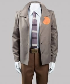 Tom Hiddleston Loki 2021 Brown Cotton Jacket