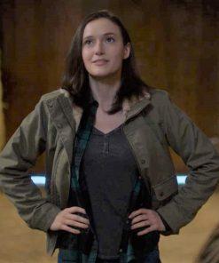 Chyler Leigh TV Series Supergirl Season 6 Alex Danvers Jacket