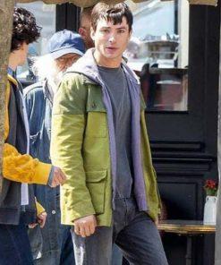 Barry Allen Green Cotton Jacket