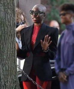 Danai Gurira Black Panther: Wakanda Forever 2022 Black Blazer