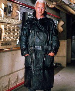 Roy Batty Blade Runner 1982 Rutger Hauer Black Leather Coat