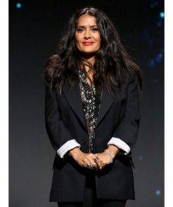 FIlm Eternals Event Black Salma Hayek Blazer