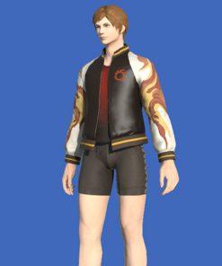 Final Fantasy XIV Inferno Bomber Jacket