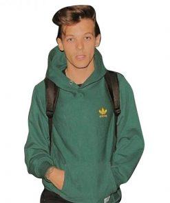 Louis Tomlinson Green Hoodie