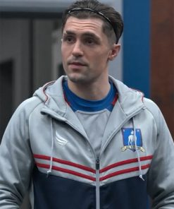 Ted lasso Phil Dunster Track Jacket with Hood