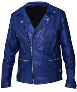 Rock Band Thirty Seconds To Mars Jared Leto Biker Leather Jacket