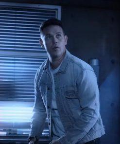 TV Series Lucifer S06 Dan Espinoza Blue Denim Jacket
