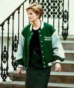 Princess-Diana-Philadelphia-Eagles-Varsity-Jacket