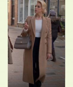 Ted Lasso Rebecca Welton Brown Coat