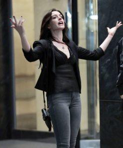 Anne Hathaway Wecrashed 2022 Jacket