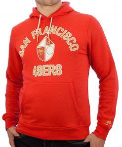 San Francisco 49ers Red Hoodie