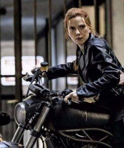 Black Widow 2021 Biker Jacket