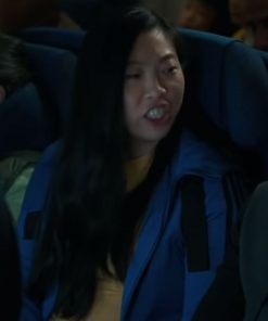 Awkwafina Katy Blue Shang-Chi And The Legend Of The Ten Rings Cotton Jacket