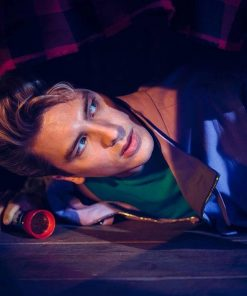 Cody Fern American Horror Story 1984 Xavier Plympton Light Purple Jacket