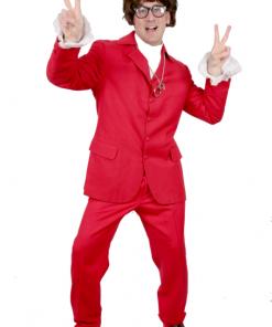Austin Power Las Vegas Red Suit