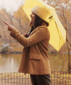 Wendy-Dating-New-York-Francesca-Reale-Brown-Jacket