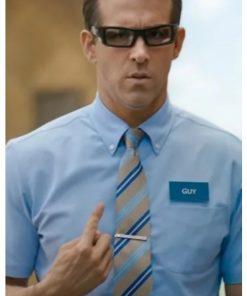 Free-Guy-Ryan-Reynolds-Shirt-and-Tie
