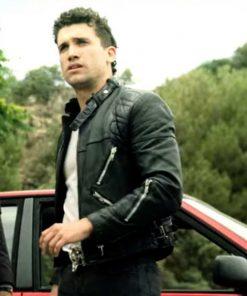 Money Heist S04 Denver Leather Jacket