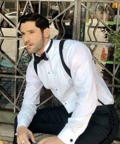Lucifer-S06-Morning-Star-White-Shirt-Bow-Tie