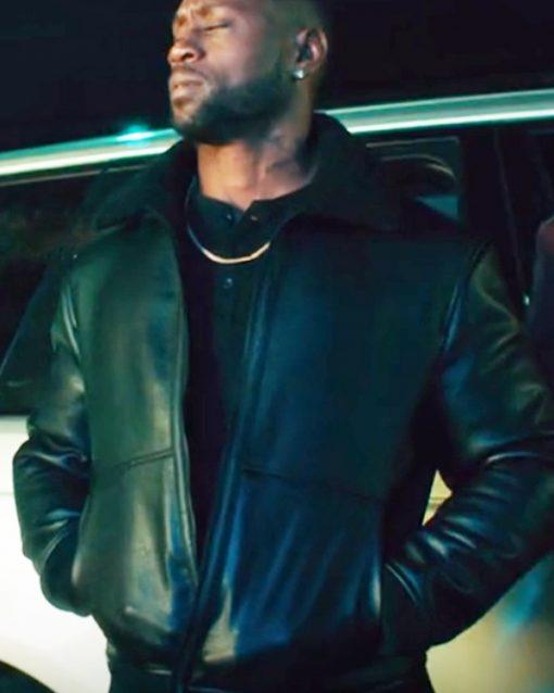 Johnson Thomas Q. Jones Leather Jacket