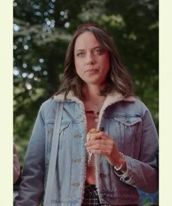 Paulina Malinowska Denim Sherpa Maria Sobocinska Sexify Jacket