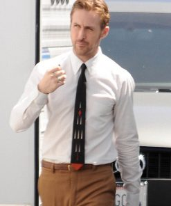 Ryan-Gosling-White-SHirt-Brown-Tie