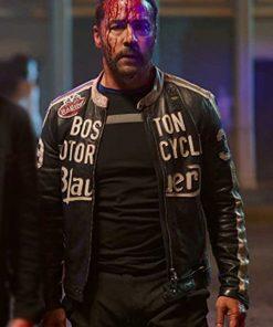Jeremy Piven American Night 2021 Black Vincent Leather Jacket