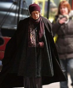 Maggie Smith Aunt Ruth A Boy Called Christmas 2021 Black Cloak