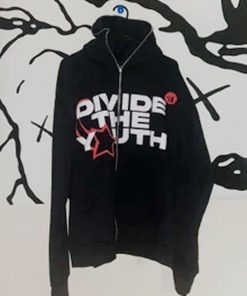 Divide-the-Youth-Black-Hoodie