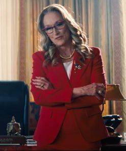 Meryl-Streep-Dont-Look-Up-Red-Blazer