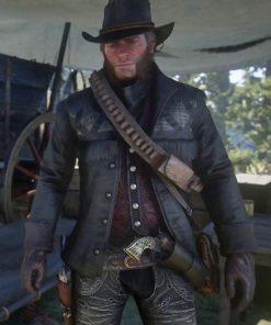 Red-Dead-Redemption-2-Gunslinger-Black-Leather-acket